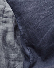 Linen Pillow Cases - Indigo without Stitching