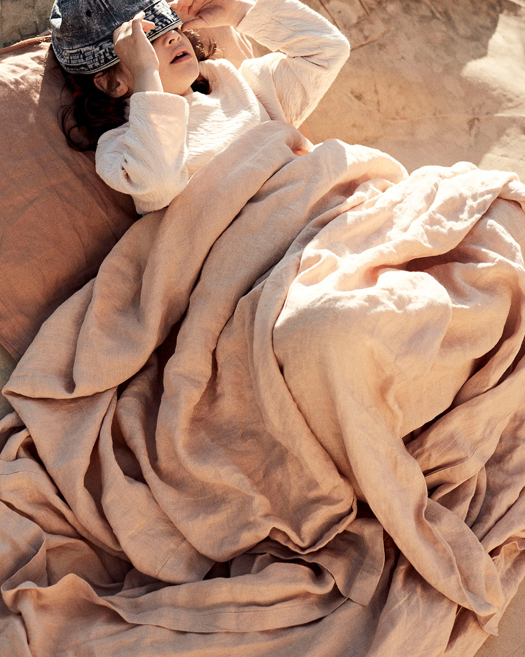 Bed Cover - Sand