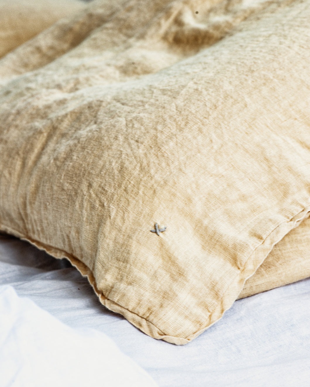 Linen Pillow Case - Canyon Gold