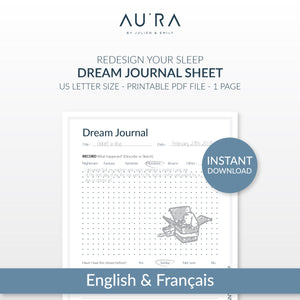 Dream Journal Sheet | Download and Print