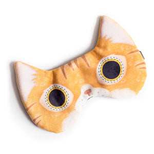 Orange tabby cat | Sleep mask