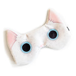 White cat | Sleep mask