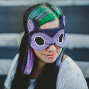 Purple bat | Sleep Mask