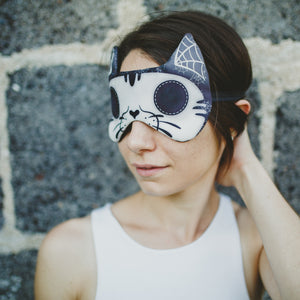 Cat skull | Sleep mask