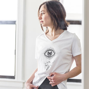 Third Eye | V-Neck T-Shirt