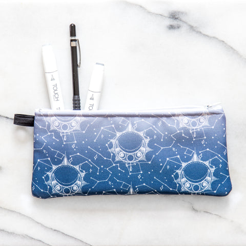 Moon | Pencil/Makeup Case