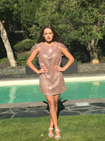 Margaret - your perfect sequin party frock