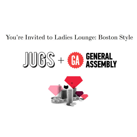 Natalie Busby at Ladies Lounge hosted by JUGS and General Assembly