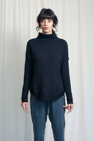 Turtleneck With Mesh