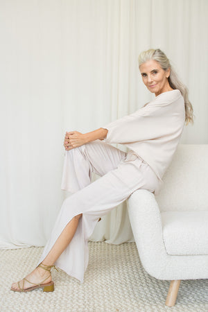 Lounge Dress - Bamboo - Raven