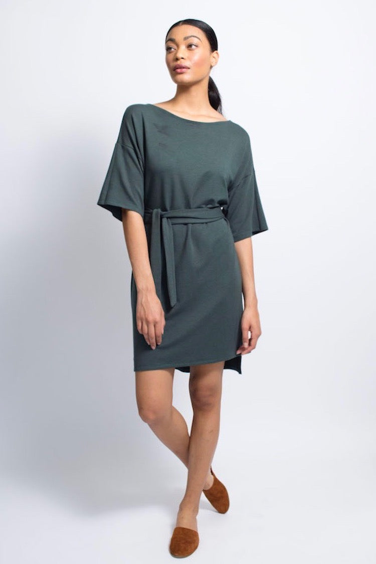 Lounge Dress - Bamboo - Pine
