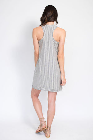Mod Shift Dress - Stripe
