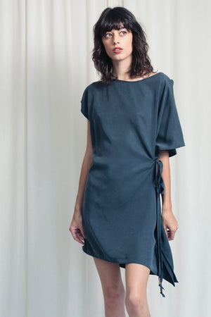Flutter Tie Dress - Tencel