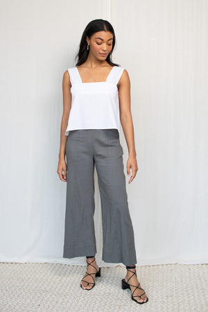 Bias Slip Dress - Burgundy Cupro