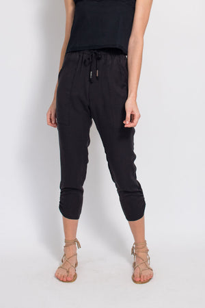 Slim Slouch Pant - Black