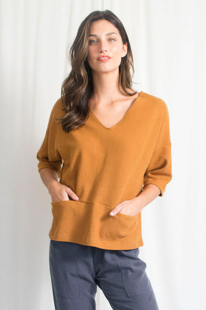 Knit Pocket Sweater