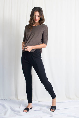 Soft Square T- Modal Sweater