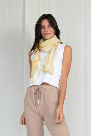 Large Scarf - Gold
