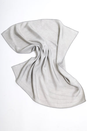 Natalie Busby X Honor Of Silk Scarf -Silver