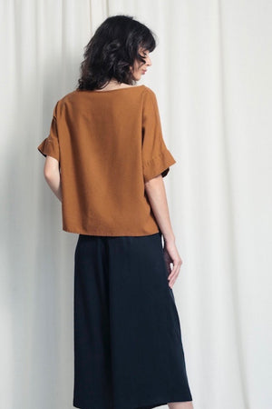Everyday T-shirt - Silk Noil