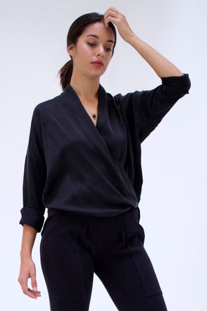 Twist Blouse - Silk