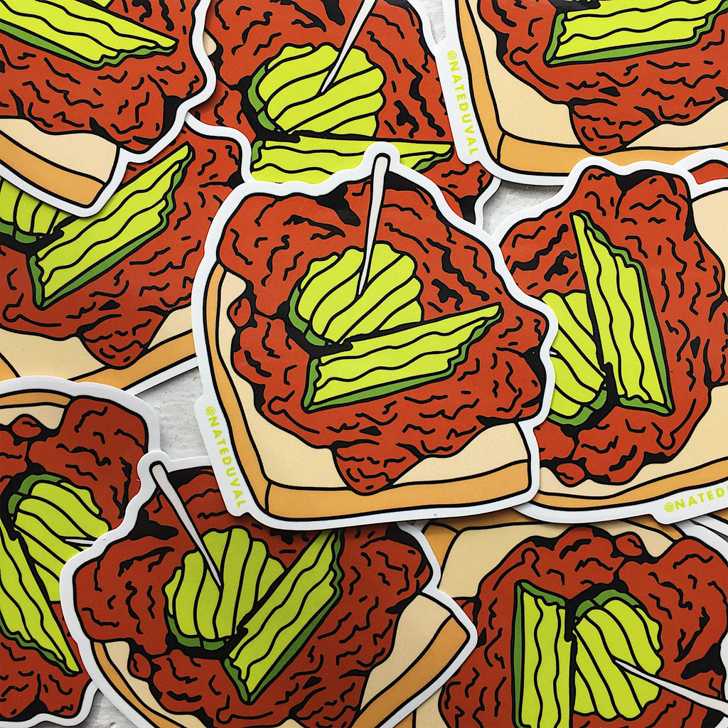 Hot Chicken Sticker