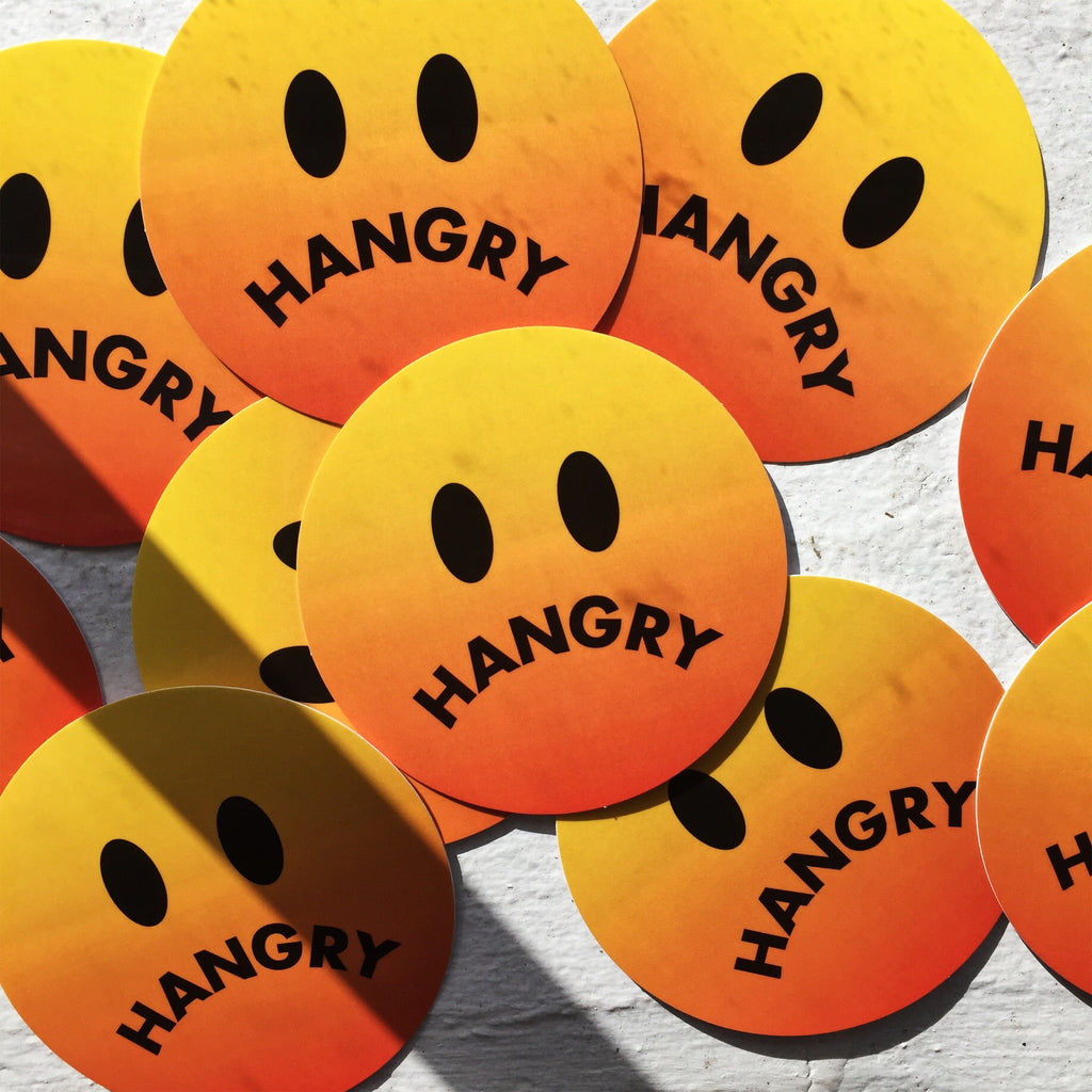 Hangry Sticker