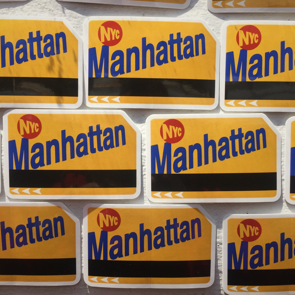 Manhattan sticker