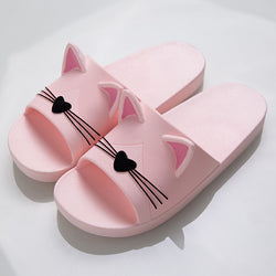 Kitty Kitty Cat Slippers / Sandals - Puuurrfect for Indoors or Out During Summer