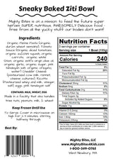 Sneaky Baked Ziti Bowl Nutrition Facts