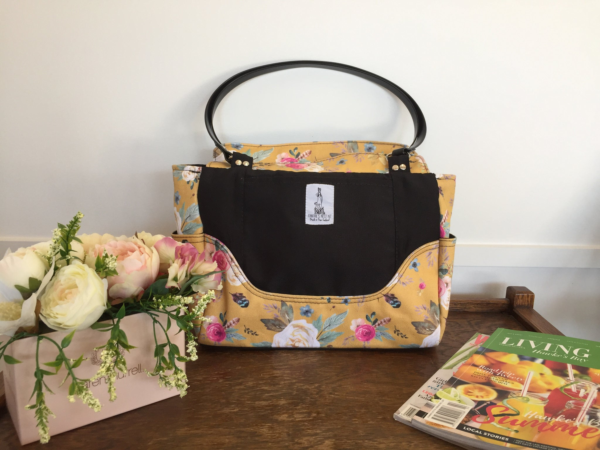 Nappy Bag/Hand Bag - Boutique Floral