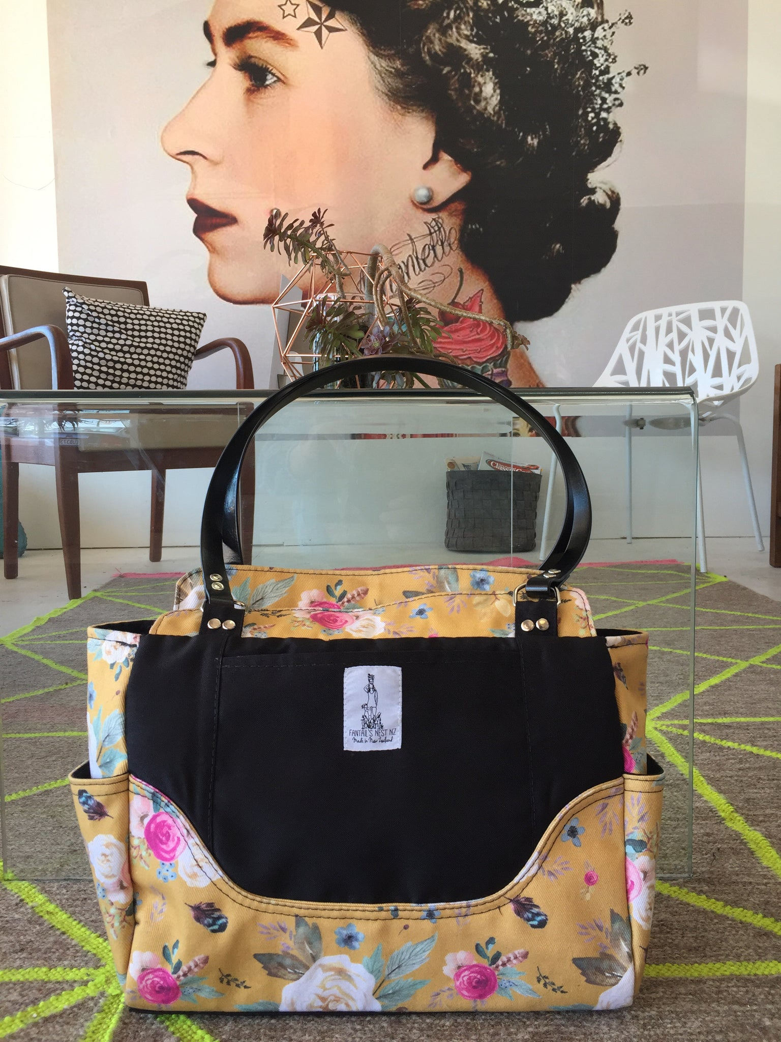 Nappy Bag/Hand Bag - Boutique Floral (Match Me)
