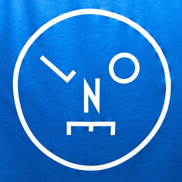 LNOE White Print T-shirt - Blue