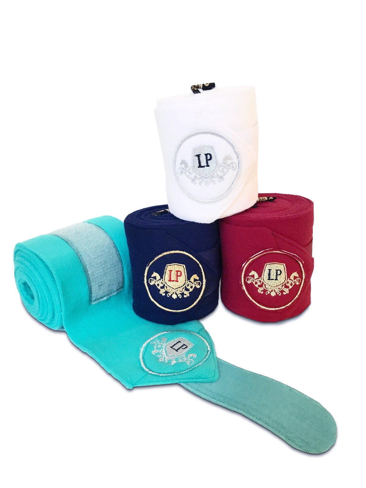 Equestrian Horse Product. Fleece Bandages