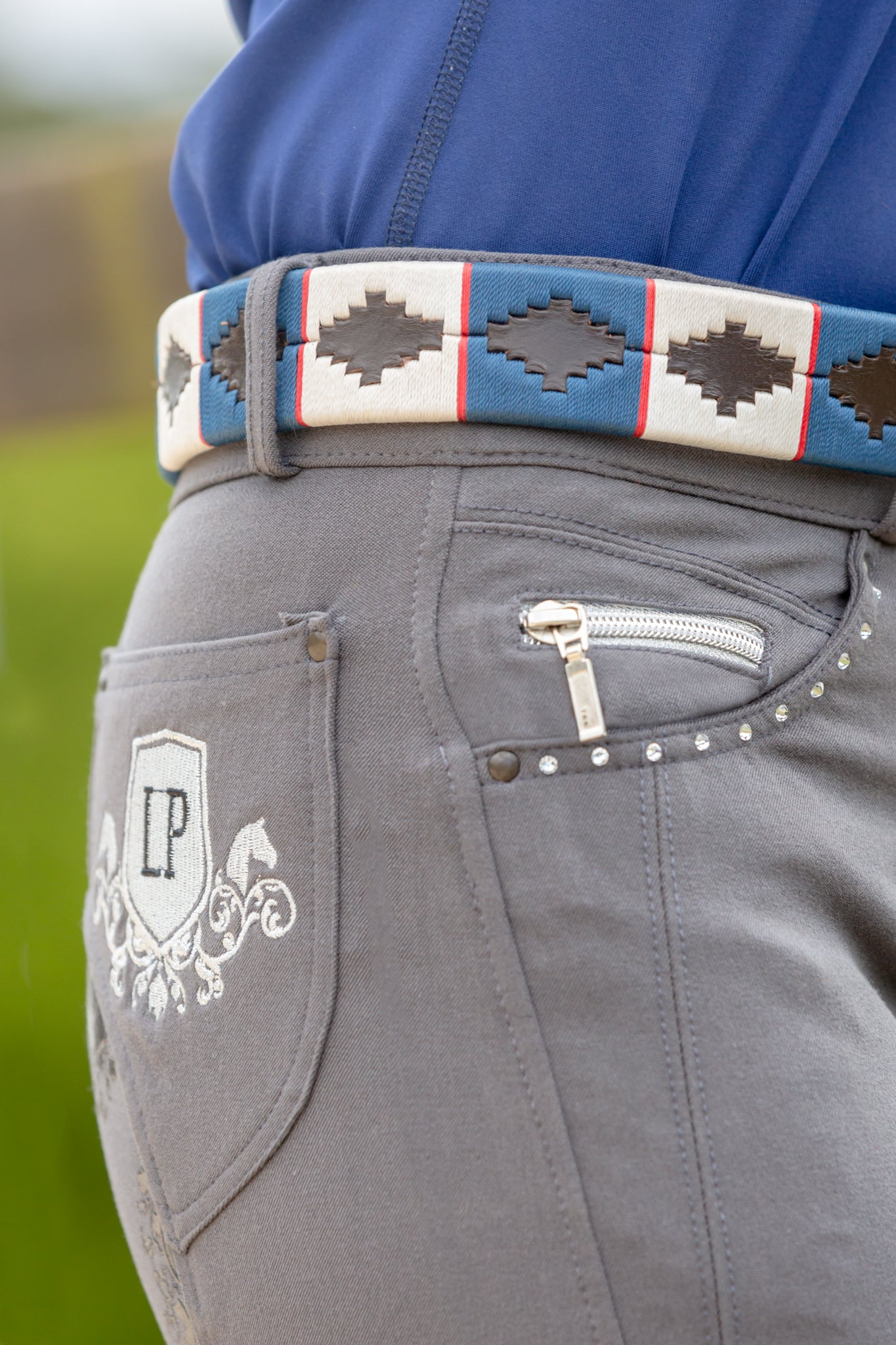 LP Polo Embroidered Belt