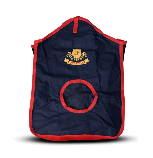 Equestrian Horse Product. Navy Hay Bag