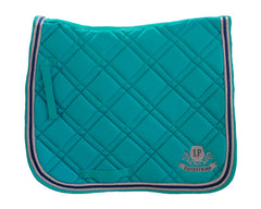 Equestrian Horse Product. Turquoise Dressage Saddle PAd