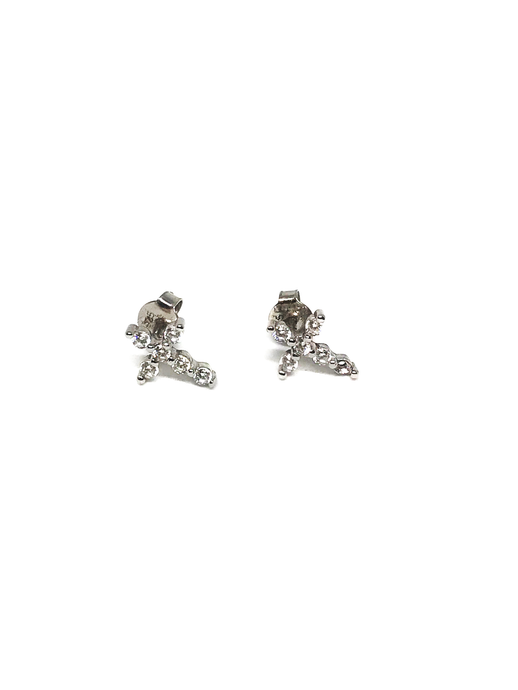 Mini Cross Studs
