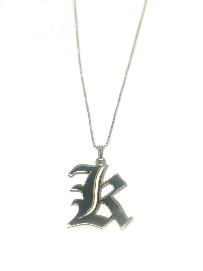 XL Initial Necklace
