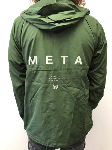 "Meta Threads ""Arrow"" Windbreaker Jacket"