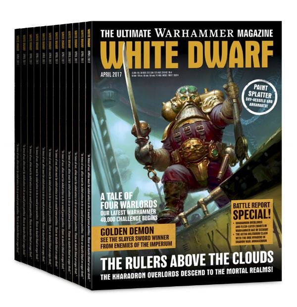 Games Workshop White Dwarf Magazine