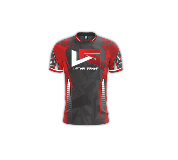 Lethal Gaming Red Jersey