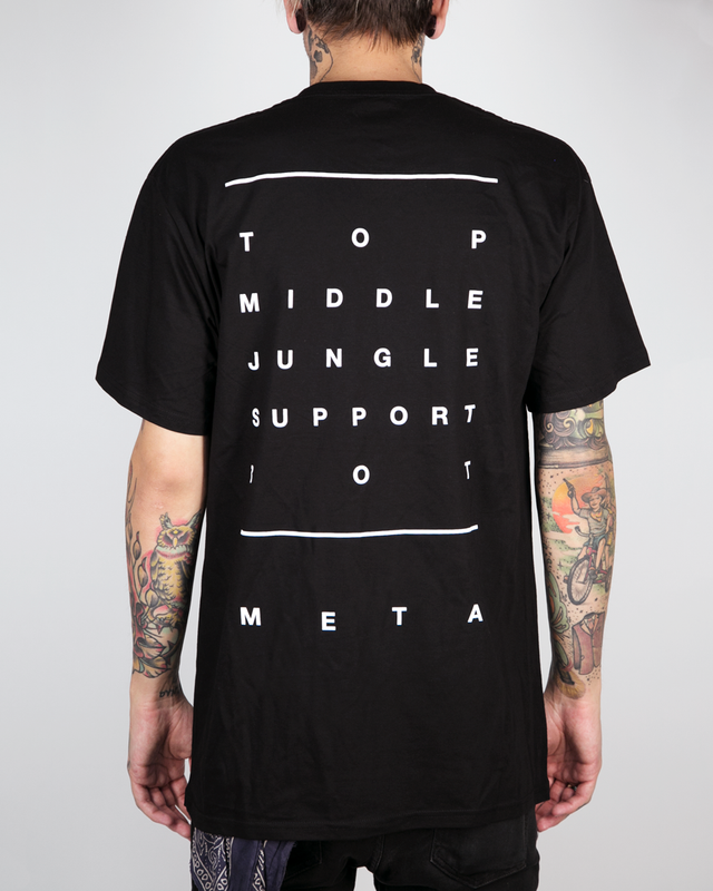 "Meta Threads ""Lanes"" T-Shirt"
