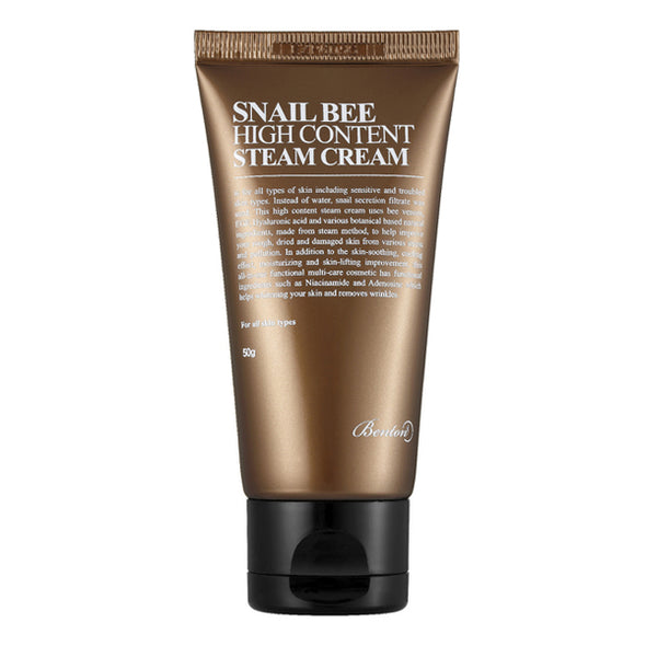 Benton Snail Bee High Content Steam Cream product