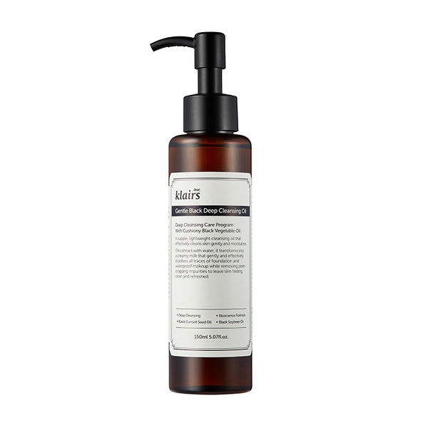 Dear, Klairs Gentle Black Deep Cleansing Oil product