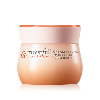etude house moistfull collagen cream product