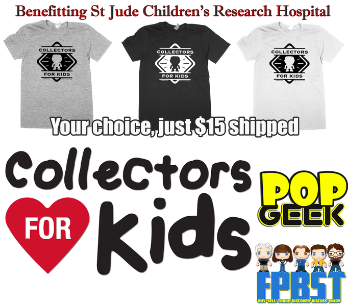 COLLECTORS FOR KIDS PROJECT #1 T-SHIRT