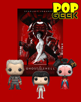 Funko POP! Ghost In The Shell Bundle