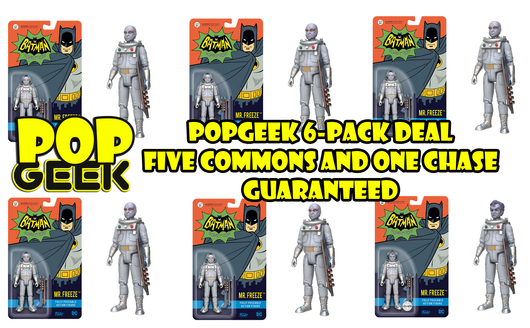 Funko Action Figure Mr. Freeze 6-Pack Chase Deal ***Pre-Order***