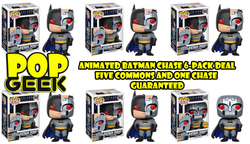 Funko POP! Animated Batman (Robot) CHASE 6-pack ***Pre-Order***